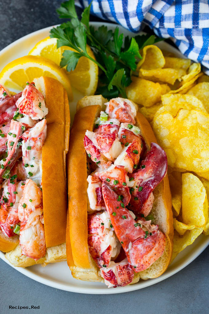 Quick Recipe for Lobster Roll