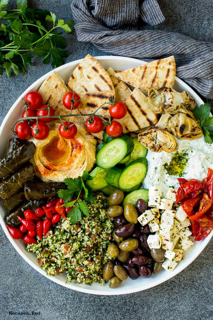 Mediterranean Mezze Platter Recipes