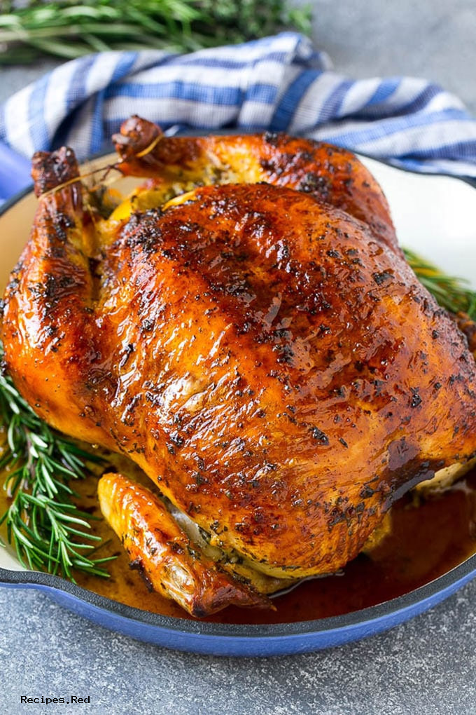 Chicken: Roasted Chicken with Garlic and Herbs