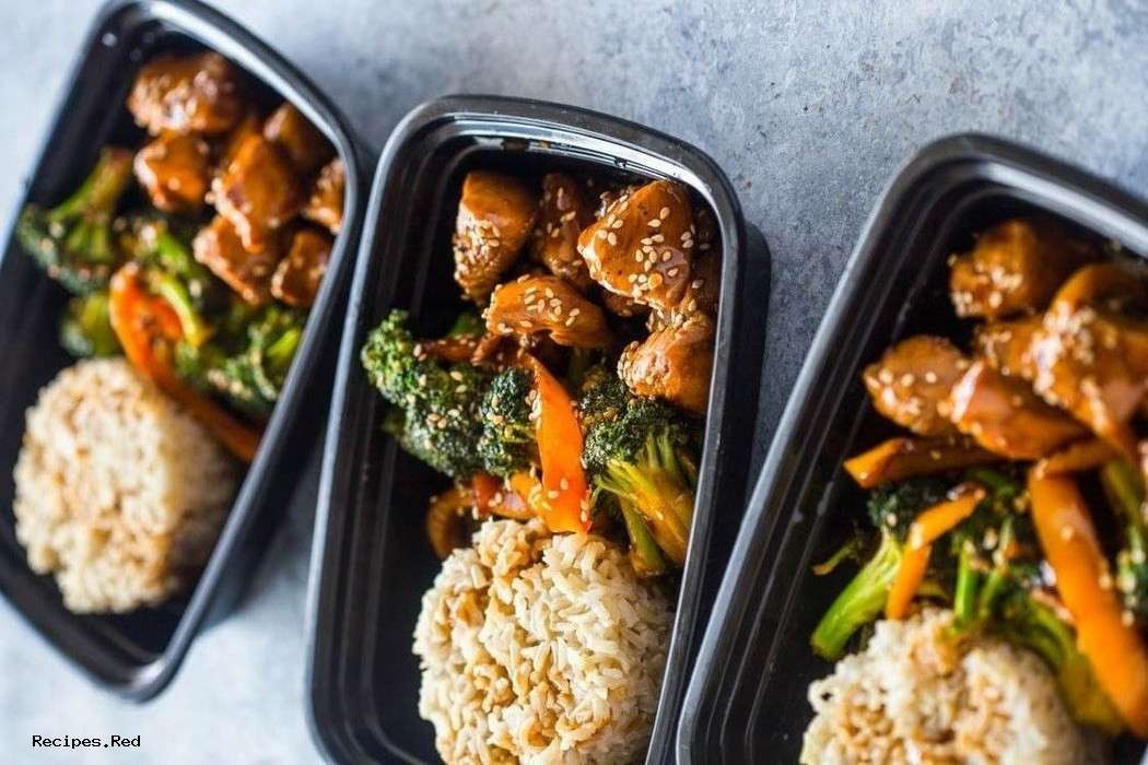 Meal Prep – Teriyaki Chicken and Broccoli
