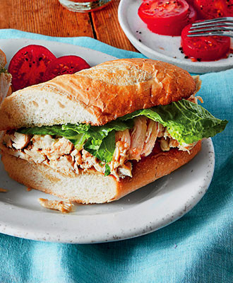 Chicken Caesar Salad Sandwiches, Delicious Recipe