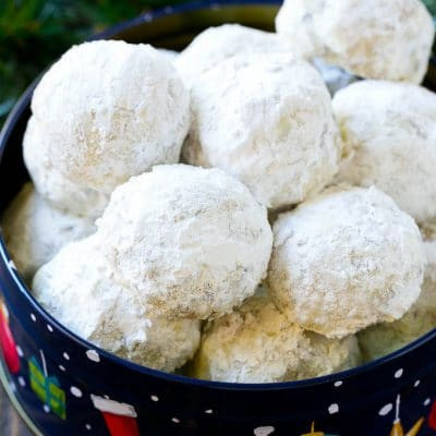 Best Snowball Cookies Recipe : How to Make Christmas Snowball Cookies