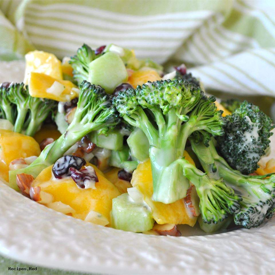 Broccoli Mango Salad: Broccoli Salad Recipes