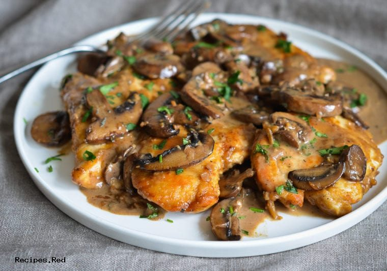 Chicken Marsala, Chicken Marsala Recipe : Easy Creamy Chicken Marsala